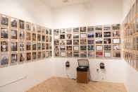 """Savery Gallery Exhibition 5/5/17-6/3/17. One hundred & forty-one 8""""x10"""" Framed Photographs with Double LP Record of Audio Interviews with subjects conducted from 2009-2014."""